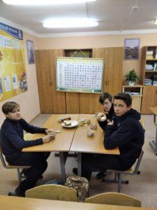 Чаепитие в 9 классе на Праздник Рождества Богородицы