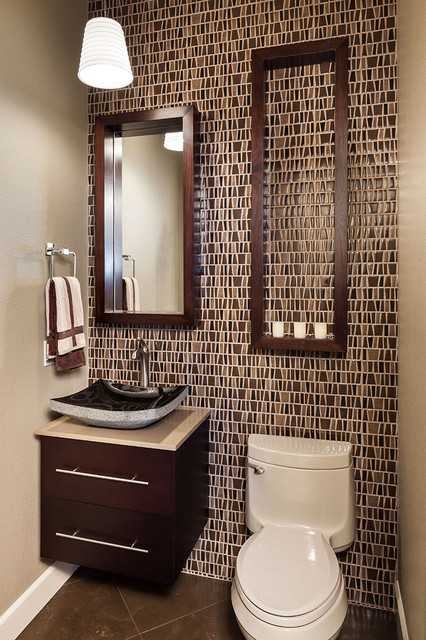 Best 25 Modern Powder Room Design Ideas This Month