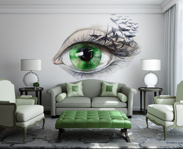 Best 15 Refreshing Wall Mural Ideas For Your Living Room This Month