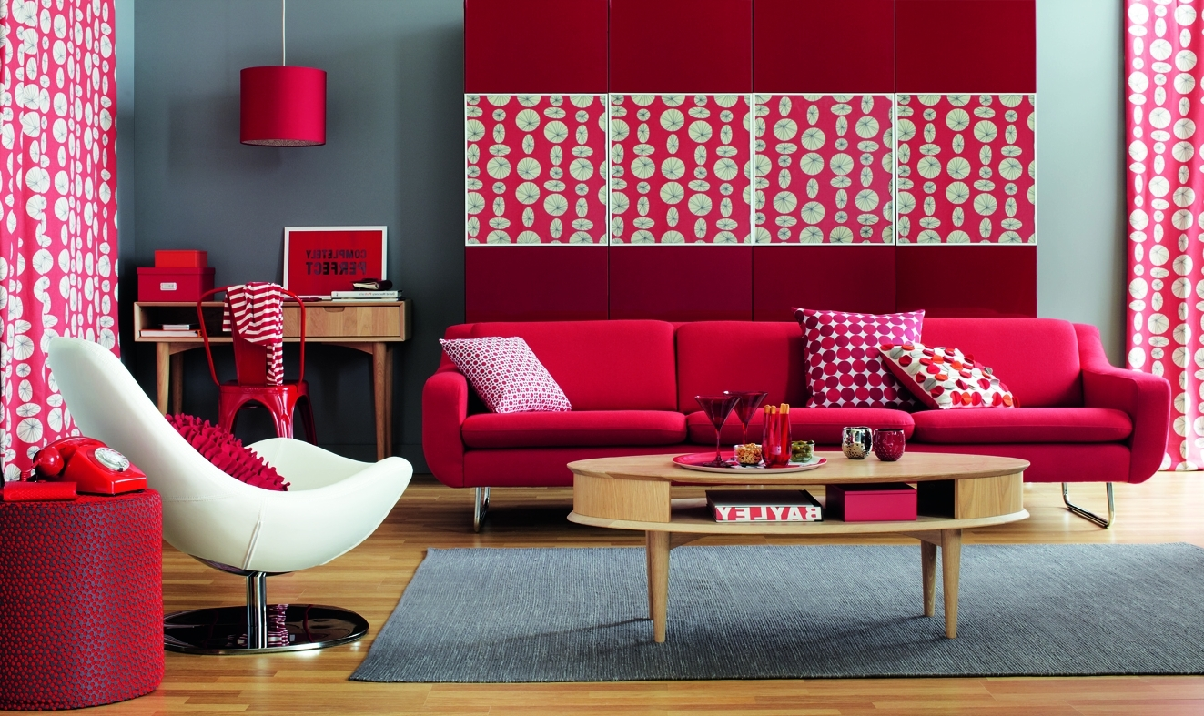 Best Red Living Room Ideas To Decorate Modern Living Room Sets This Month