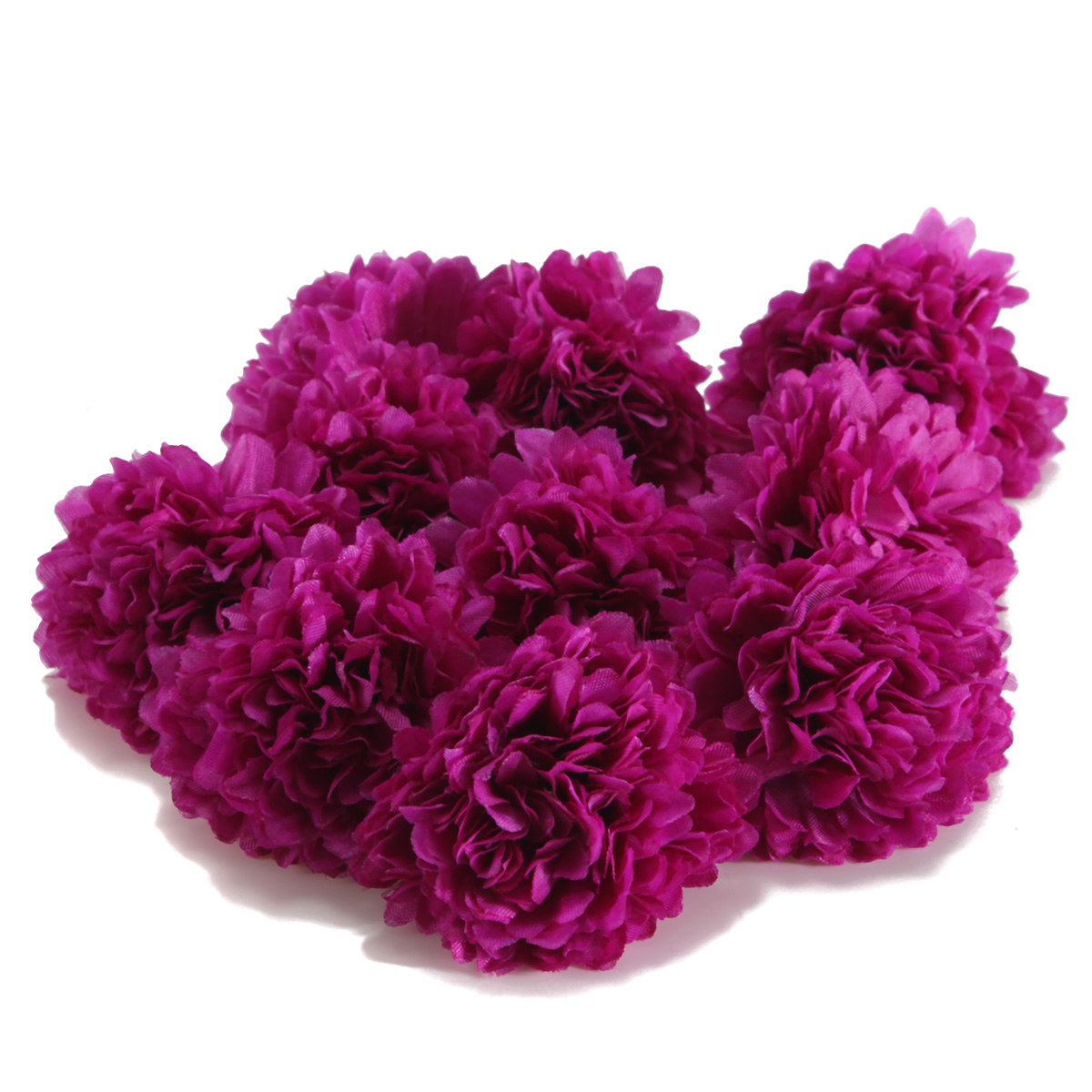 Best 10Pcs Artificial Flower Silk Clove Daisy Spherical Heads This Month