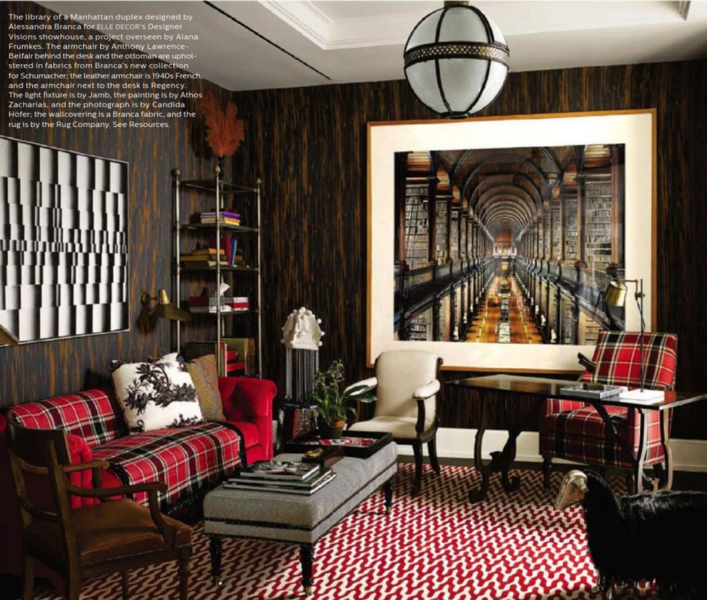Best Reaching New Heights Elle Decor December 2013 This Month