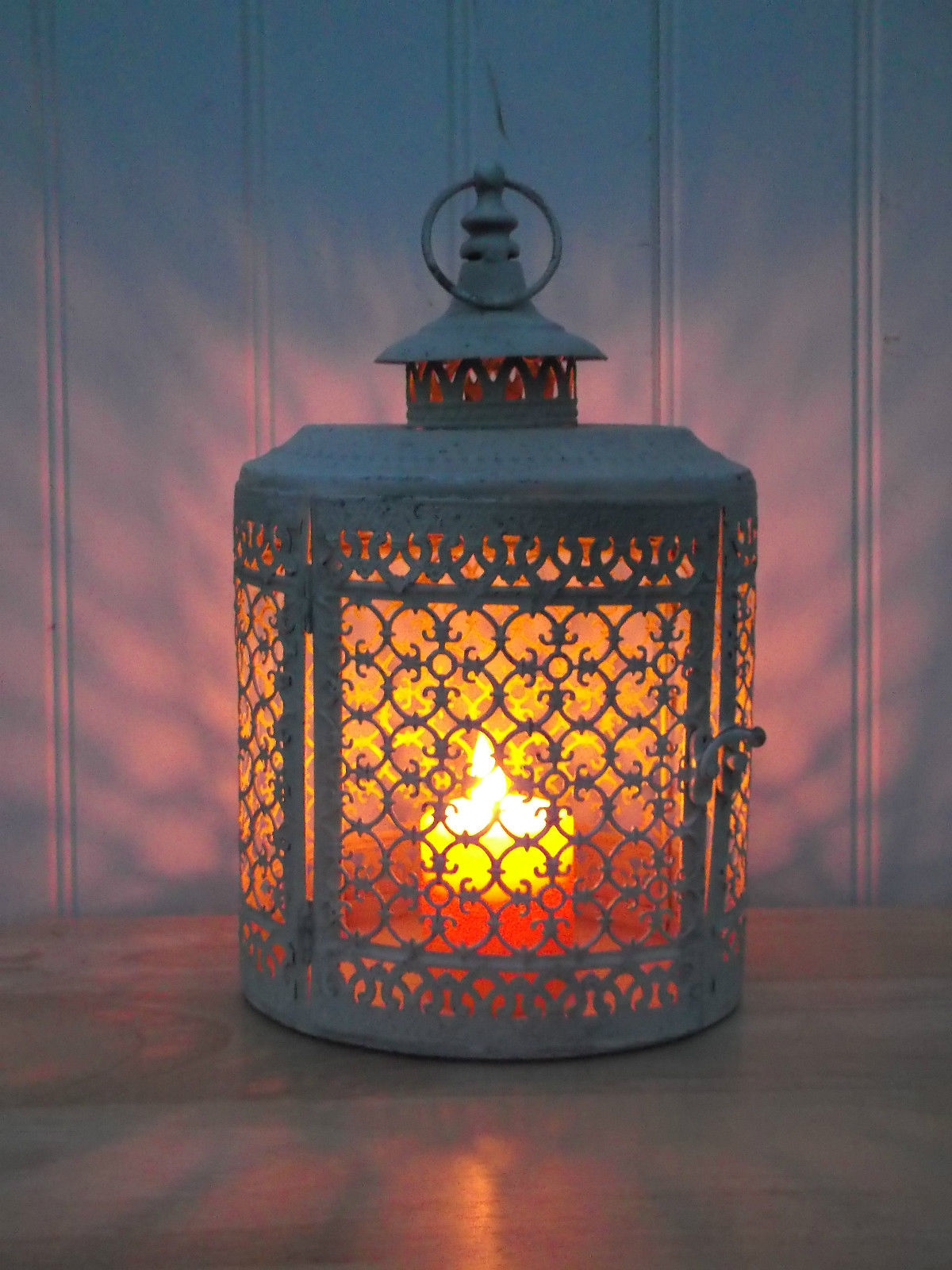 Best Antique White Vintage Style Moroccan Large Lantern This Month