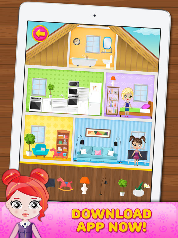 Best App Shopper Doll House Decorating Game For Little Girls This Month