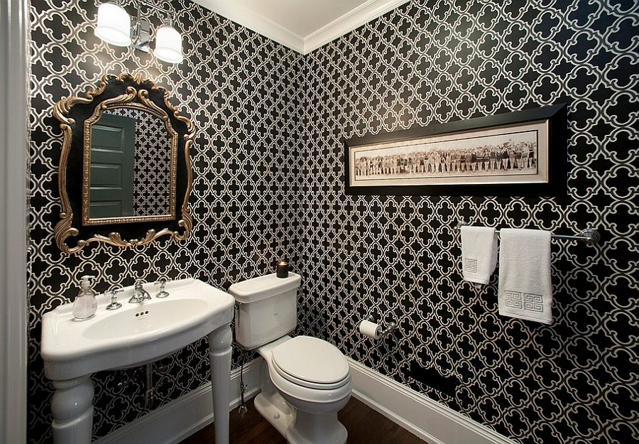 Best 20 Gorgeous Wallpaper Ideas For Your Powder Room This Month