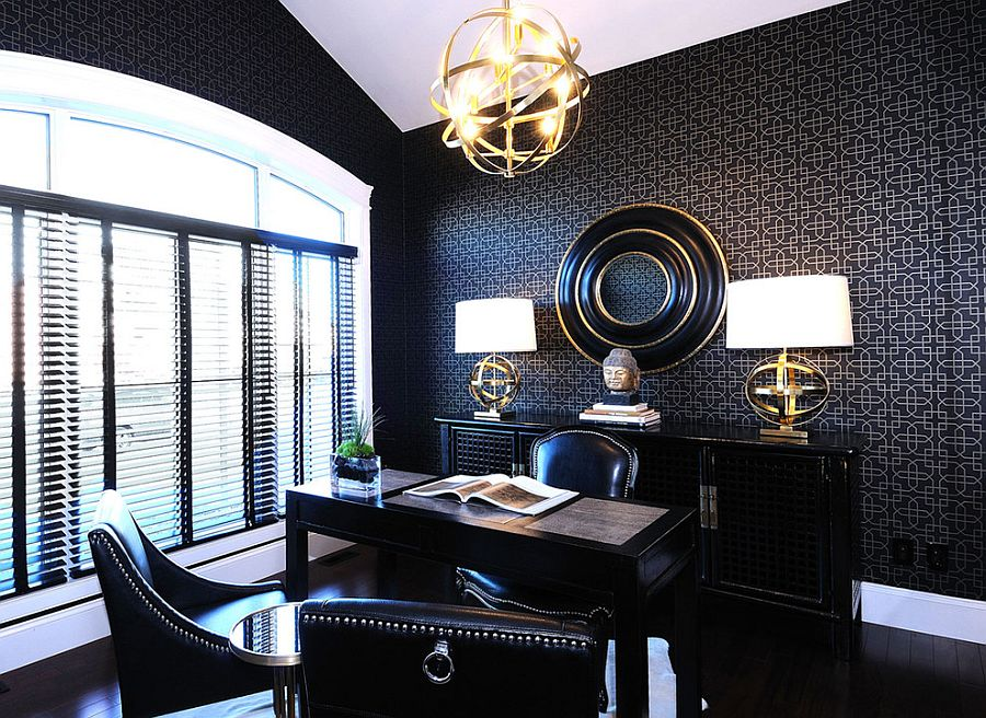 Best 30 Black And White Home Offices That Leave You Spellbound This Month