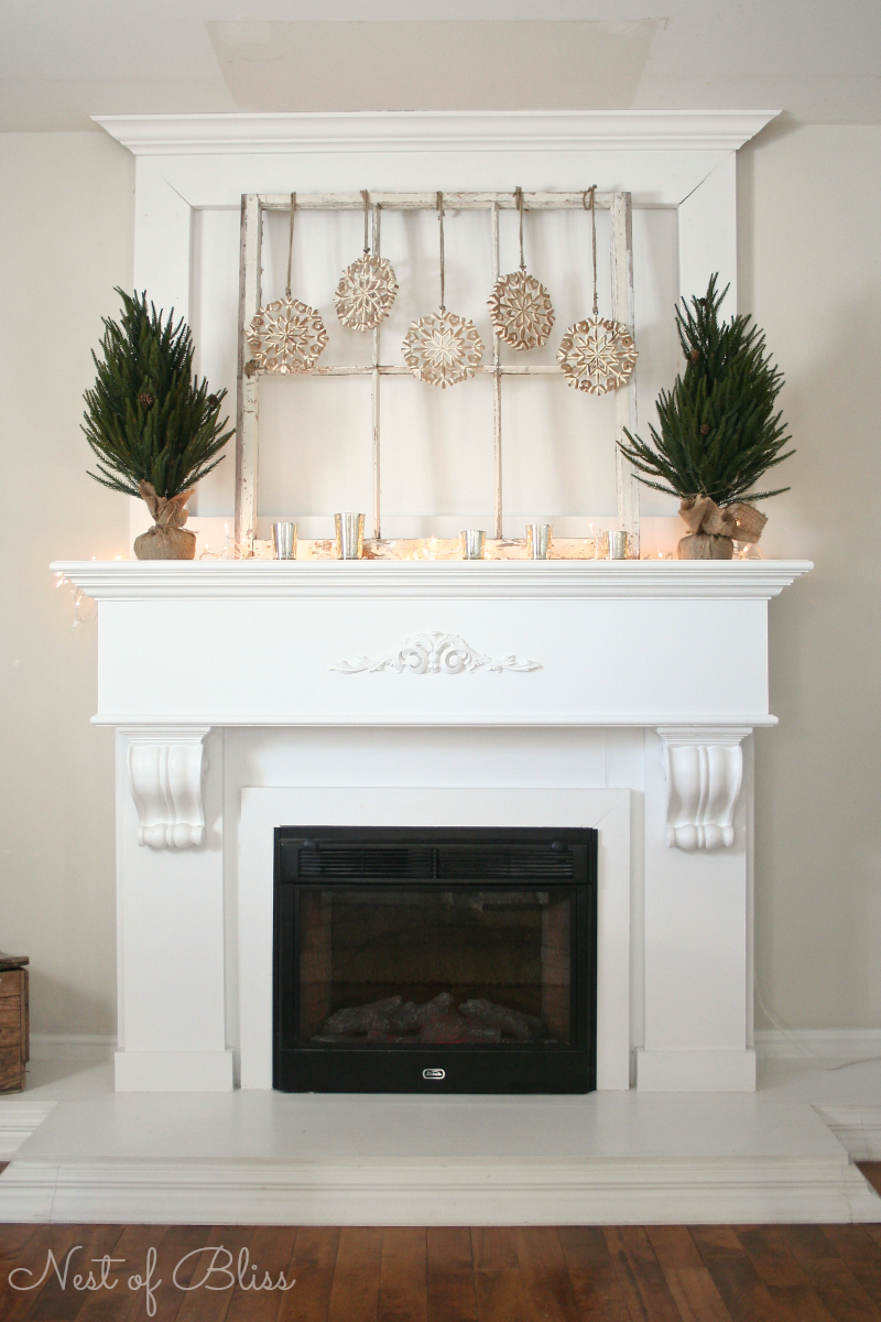 Best 25 Winter Fireplace Mantel Decorating Ideas This Month