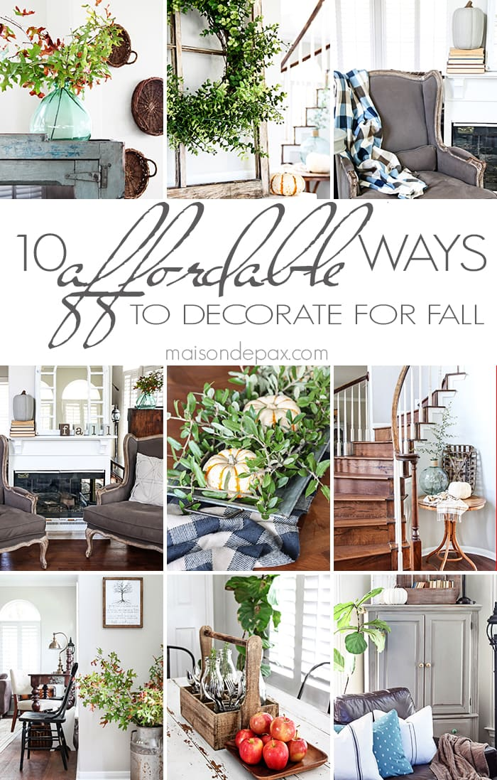 Best 10 Affordable Ways To Decorate For Fall Free Printable This Month