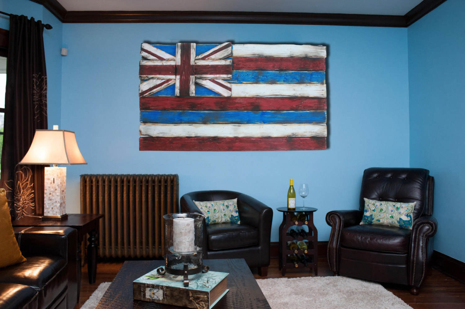Best Weathered Wood One Of A Kind 3D Hawaii State Flag Wooden This Month