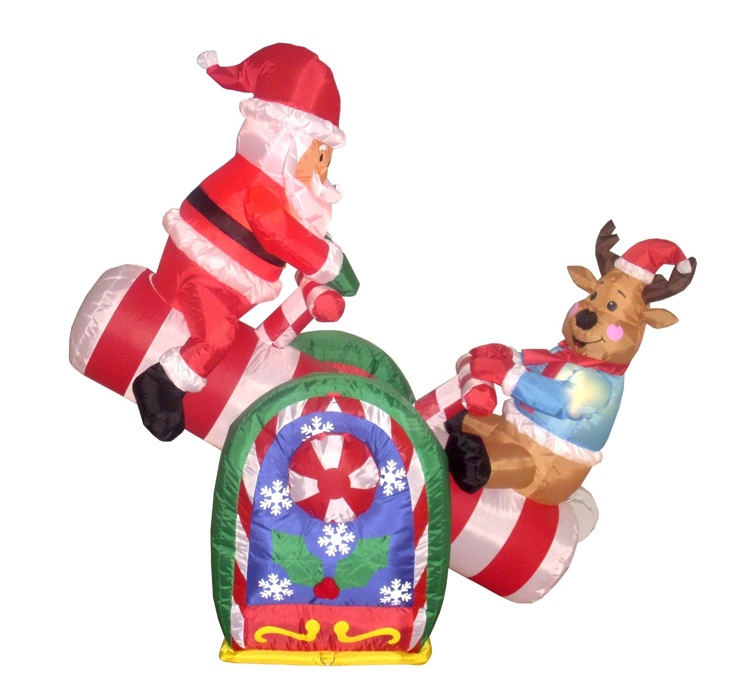 Best Inflatable Outdoor Decorations Christmas Holiday Central This Month