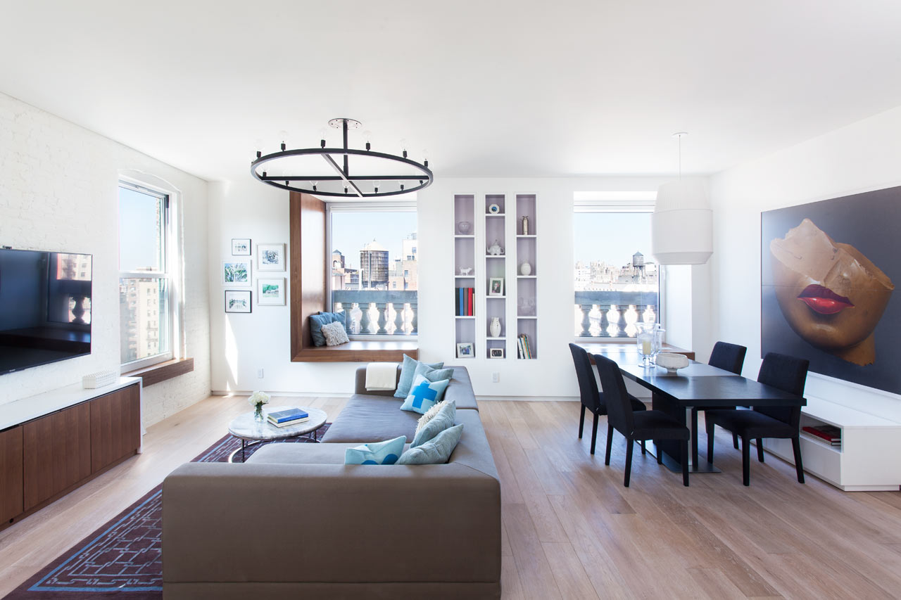 Best Two Apartments Become A Modern Nyc Home Design Milk This Month