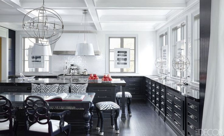 Best 20 Black And White Kitchen Design Decor Ideas This Month