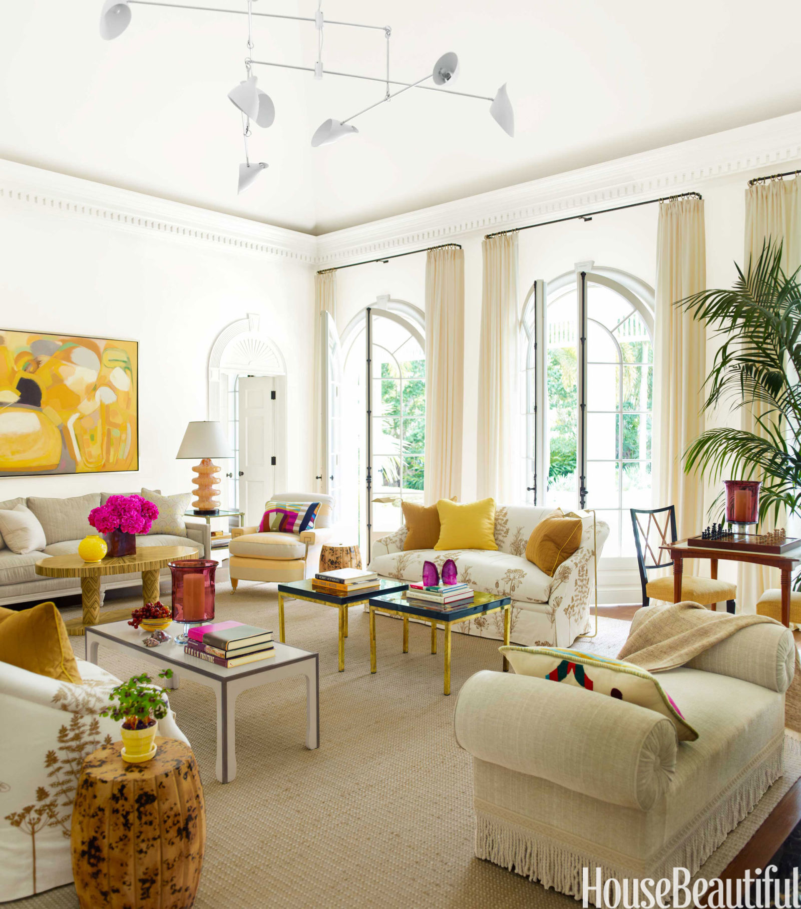 Best Living Room With Bold Color House Beautiful Pinterest This Month