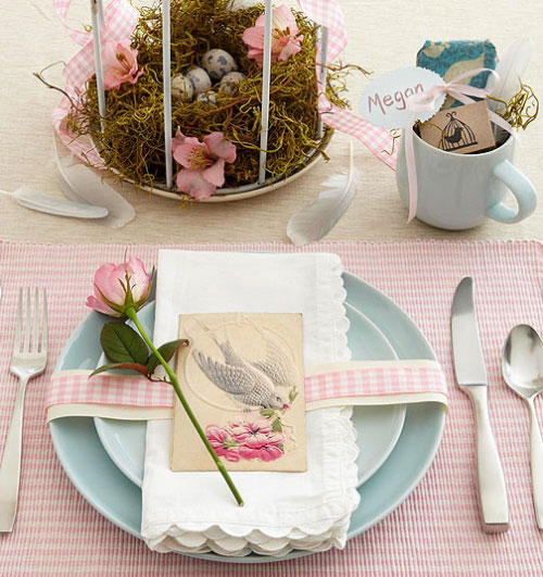 Best 31 Beautiful Easter Table Decoration Ideas – Design Swan This Month