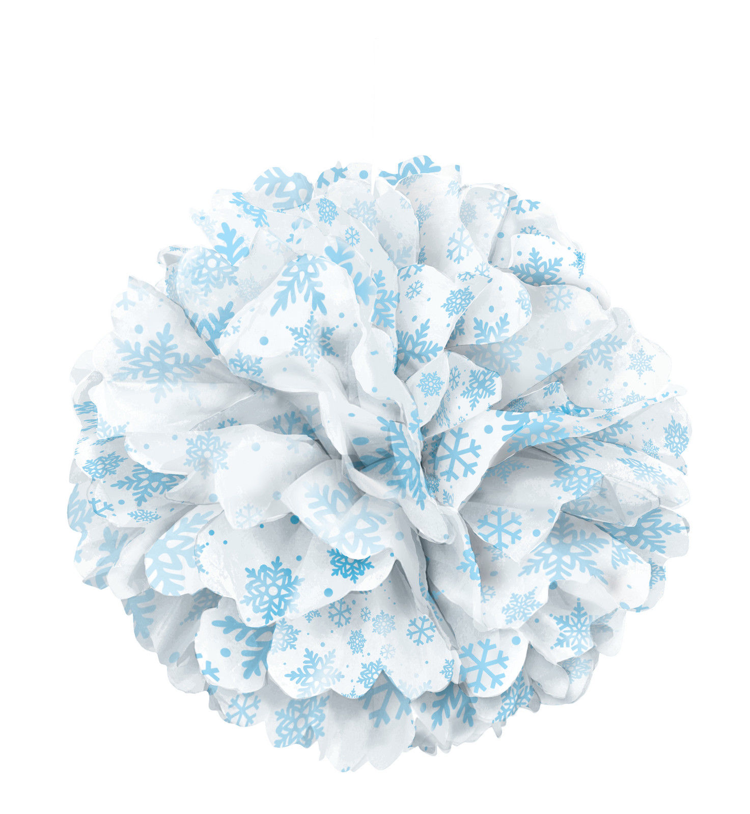 Best Large Snowflakes Paper Fluffy Hanging Decoration Tissue This Month