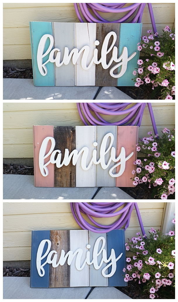 """Best New """"Old"""" Distressed Barn Wood Word Art Indoor Outdoor This Month"""
