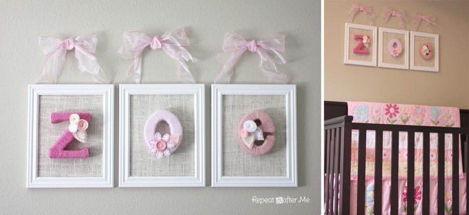 Best Baby Girl Nursery Diy Decorating Ideas Repeat Crafter Me This Month