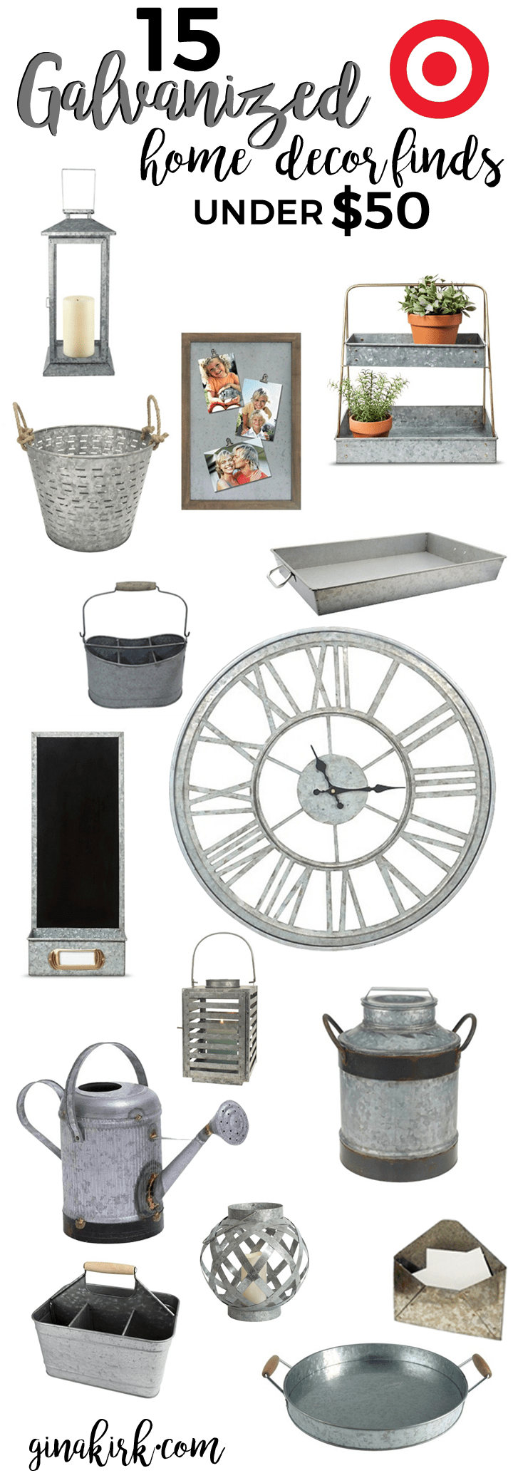 Best 15 Under 50 Galvanized Home Decor This Month