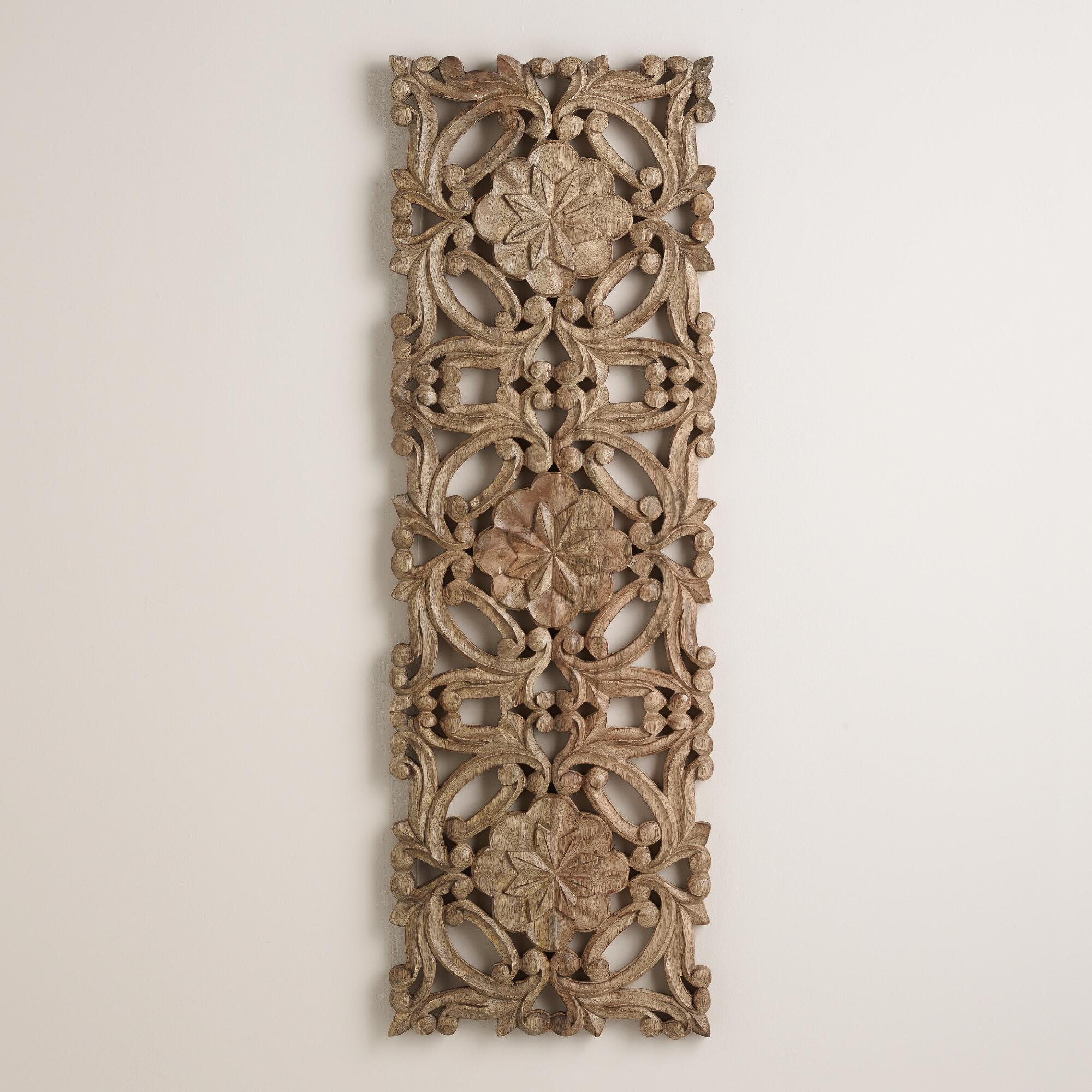 Best Antiqued Carved Wood Wall Decor World Market This Month