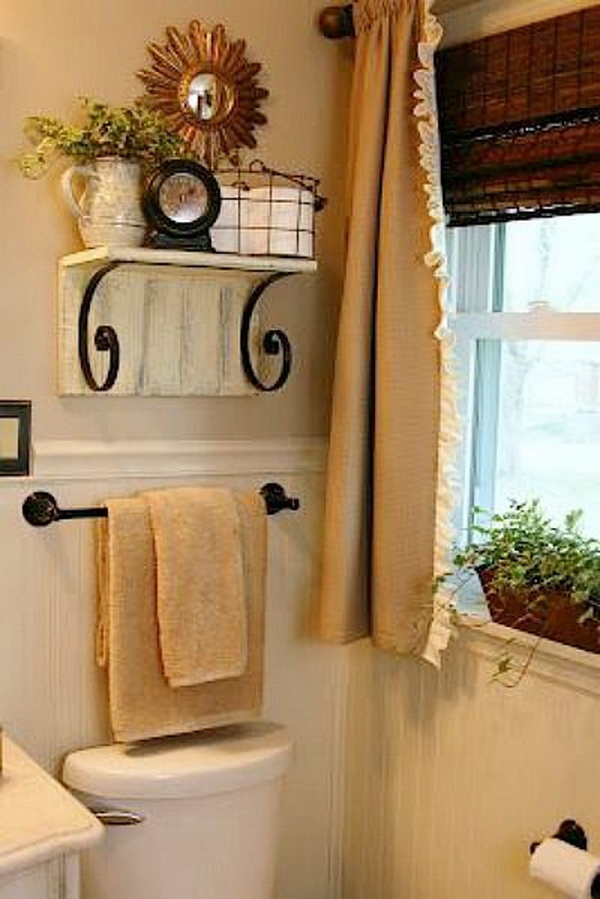 Best Awesome Over The Toilet Storage Organization Ideas Listing More This Month