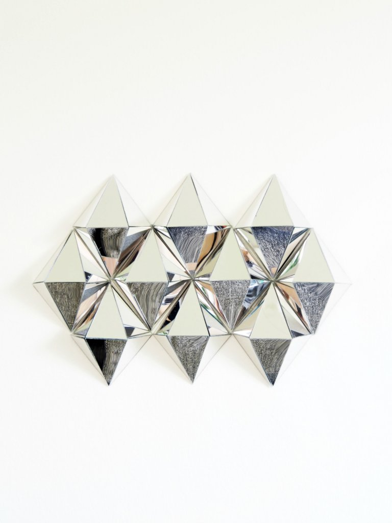 Best Diy 3D Mirrors Diamond Wall Art Monsterscircus This Month