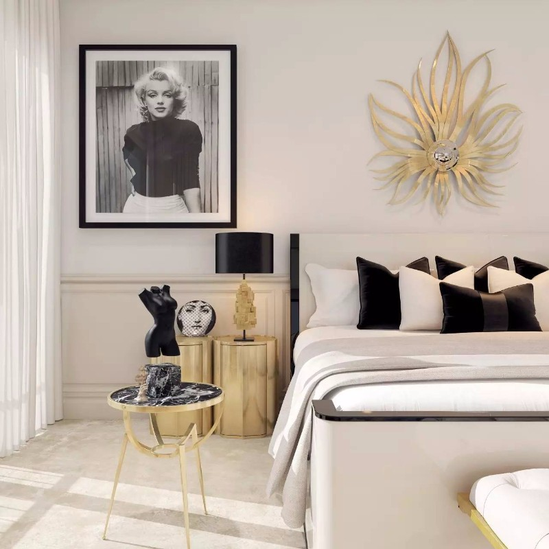 Best 10 Master Bedrooms With Gold Accent Décor – Master Bedroom This Month