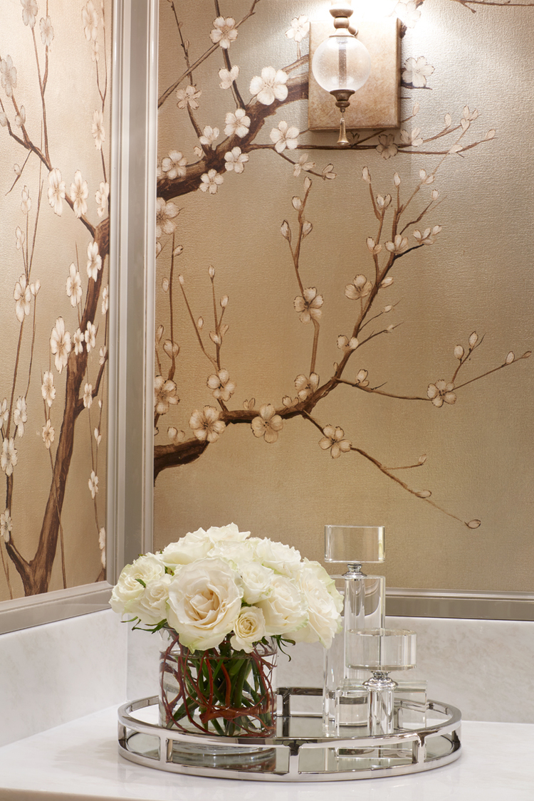 Best 50 Floral Wallpaper And Mural Ideas This Month