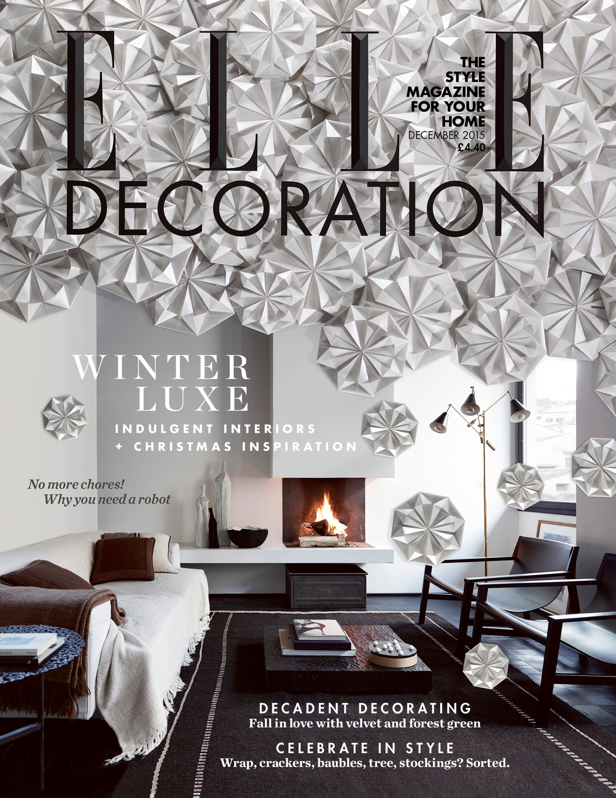 Best Elle Decoration Christmas Cover Nick Rochowski Photography This Month