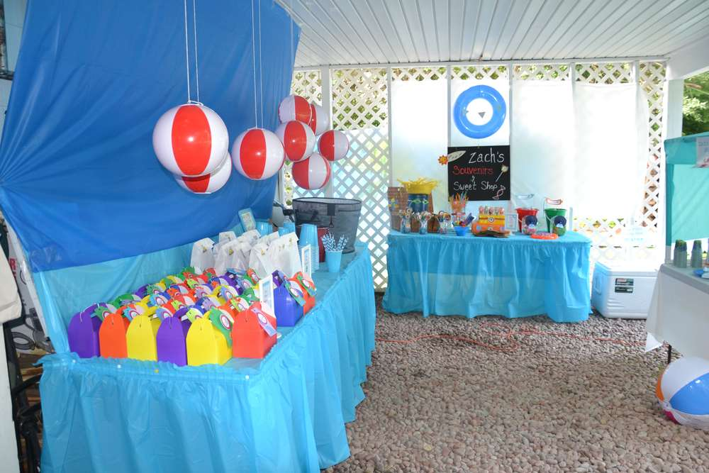 Best The Beach Birthday Party Ideas Photo 1 Of 70 Catch My This Month