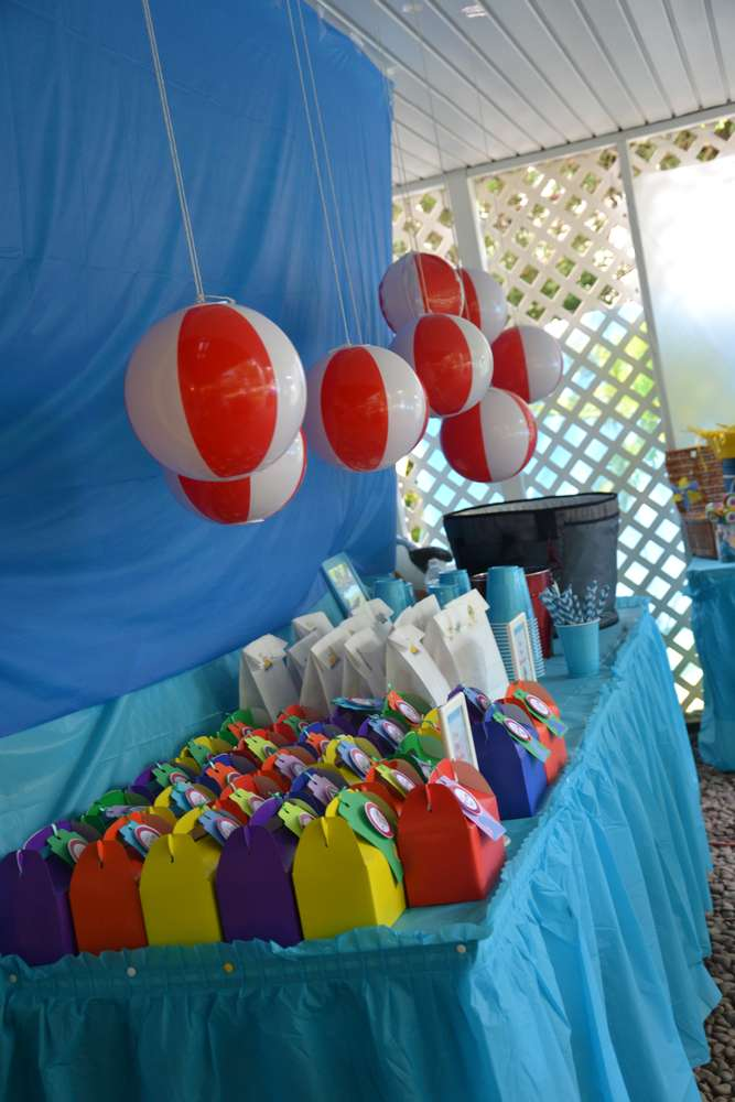 Best The Beach Birthday Party Ideas Photo 10 Of 70 Catch My This Month