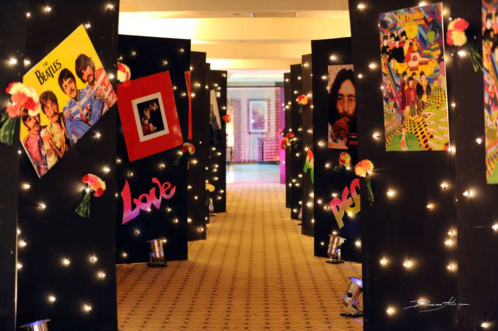 Best 60 S Hippie Theme Bar Mitzvah Party Ideas Photo 1 Of 21 This Month