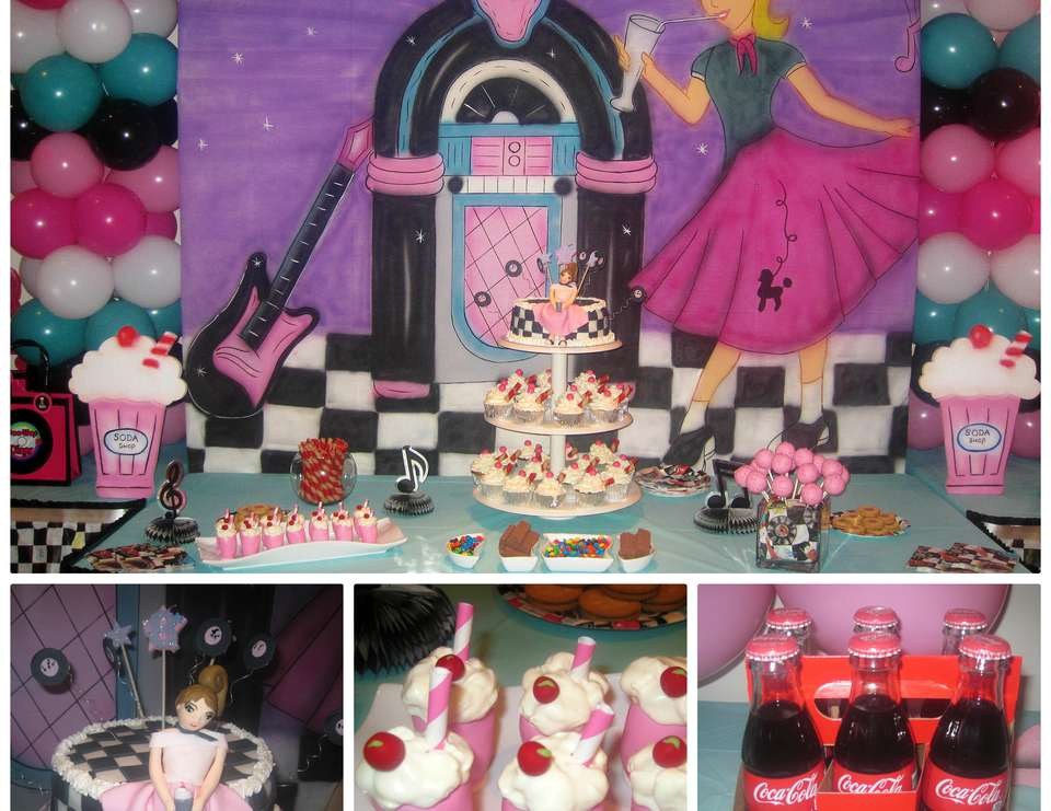 Best Sock Hop 50 S Theme Diner Birthday Sock Hop 50 S Diner This Month