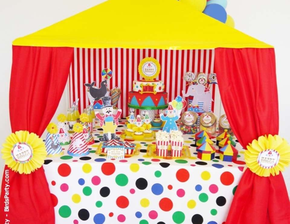 Best Circus Carnival Birthday Joint Big Top Circus This Month