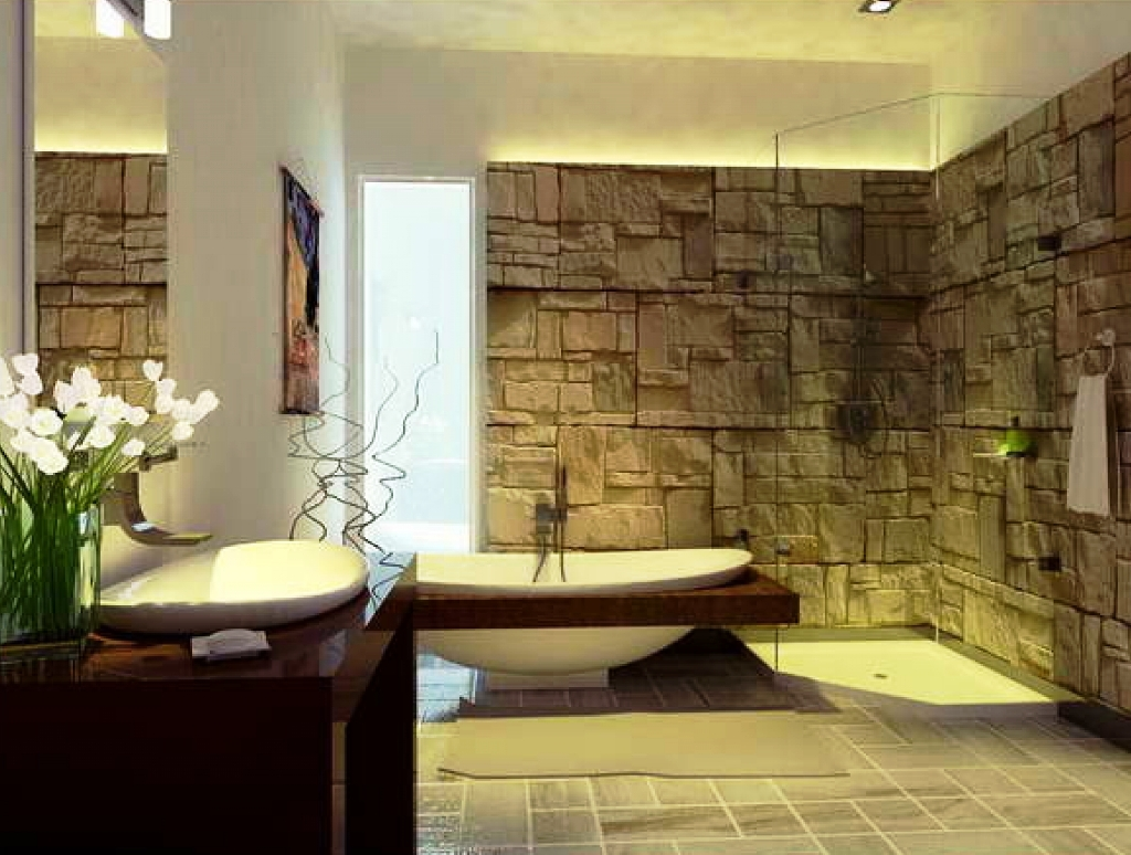 Best 23 Natural Bathroom Decorating Pictures This Month