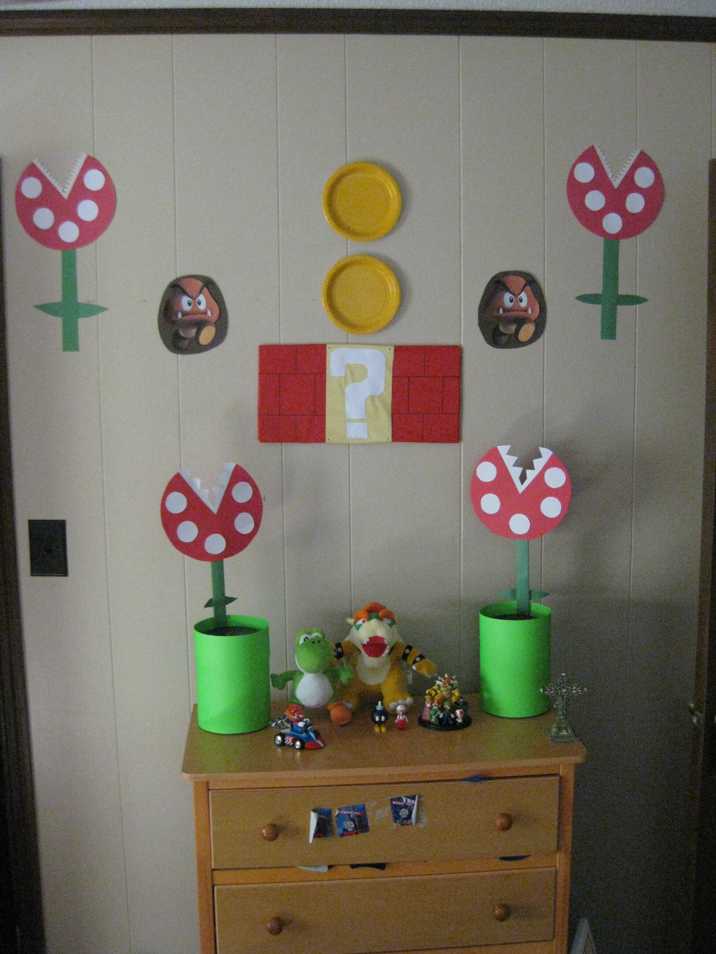 Best Diy Super Mario Bros Birthday Party Real Honest Mom This Month