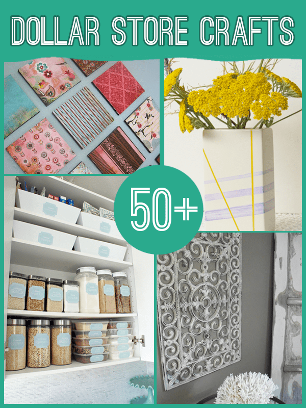 Best 60 Projects To Make With Dollar Store Supplies This Month