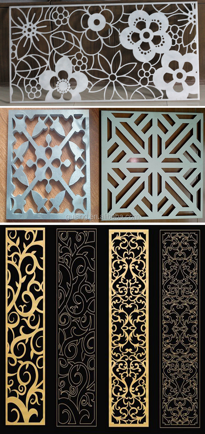 Best Gold Supplier China Decorative Aluminum Sheet Laser Cut This Month
