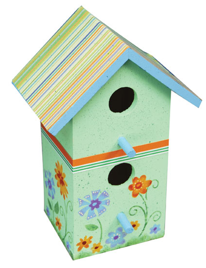 Best Floral Birdhouse Home Decor Favecrafts Com This Month