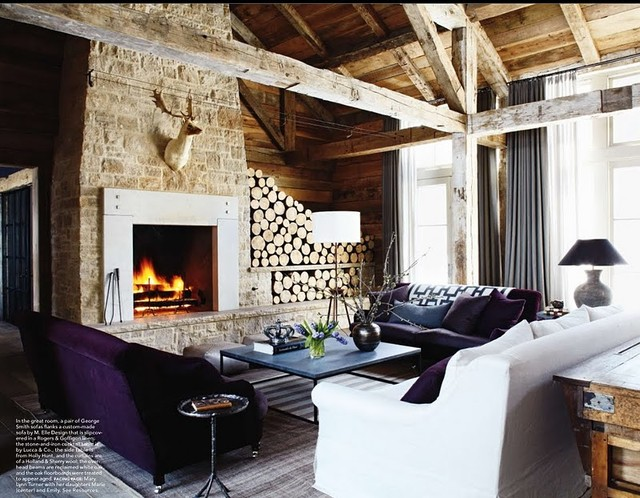 Best Lovely Logs In Elle Decor This Month