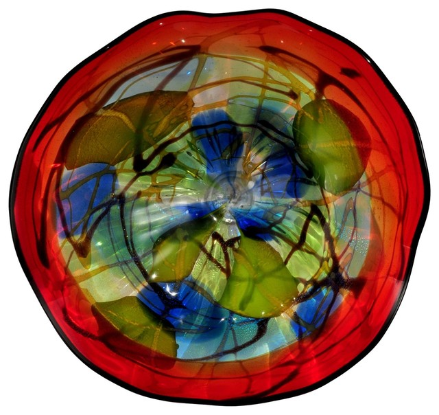 Best Dale Tiffany Hankley Modern Contemporary Art Glass Wall This Month