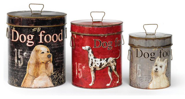 Best Vintage Bark Bins Set Of 3 Farmhouse Food Containers This Month
