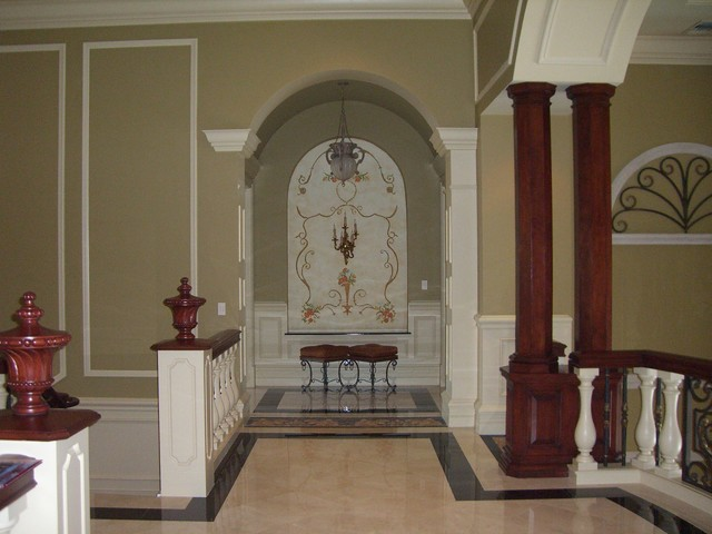 Best Decorative Wood Column Hall Miami By Jacoviello This Month