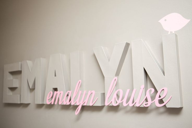 Best Baby Name Wall Decor Nursery Children S Wall Decor This Month