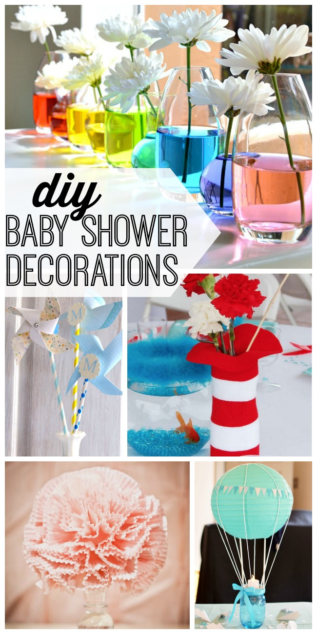 Best Diy Baby Shower Decorations My Life And Kids This Month