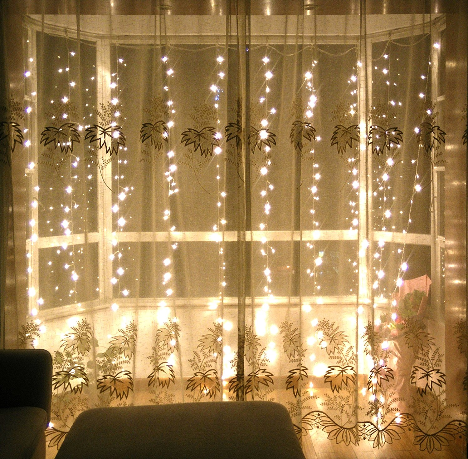Best 10 Waterfall String Light Wedding Decoration Ideas This Month