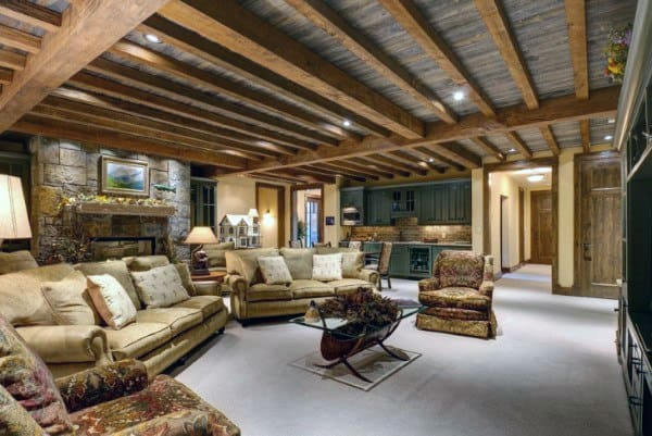 Best Top 60 Best Basement Ceiling Ideas Downstairs Finishing This Month