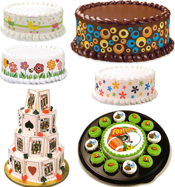 Best Edible Prints And Cake Decorations By Lucks At Home With This Month