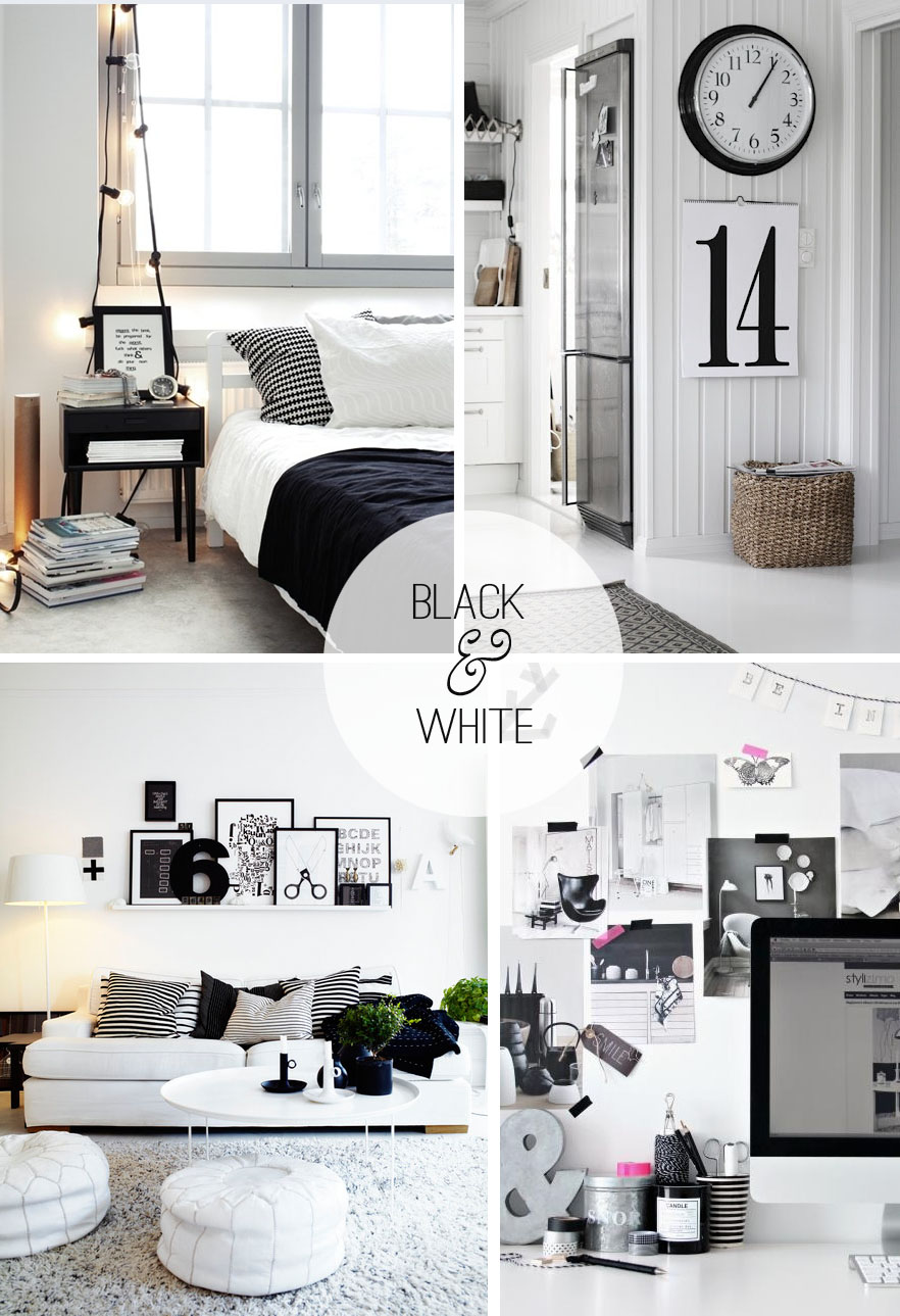 Best Black And White Decor Casual Cottage This Month