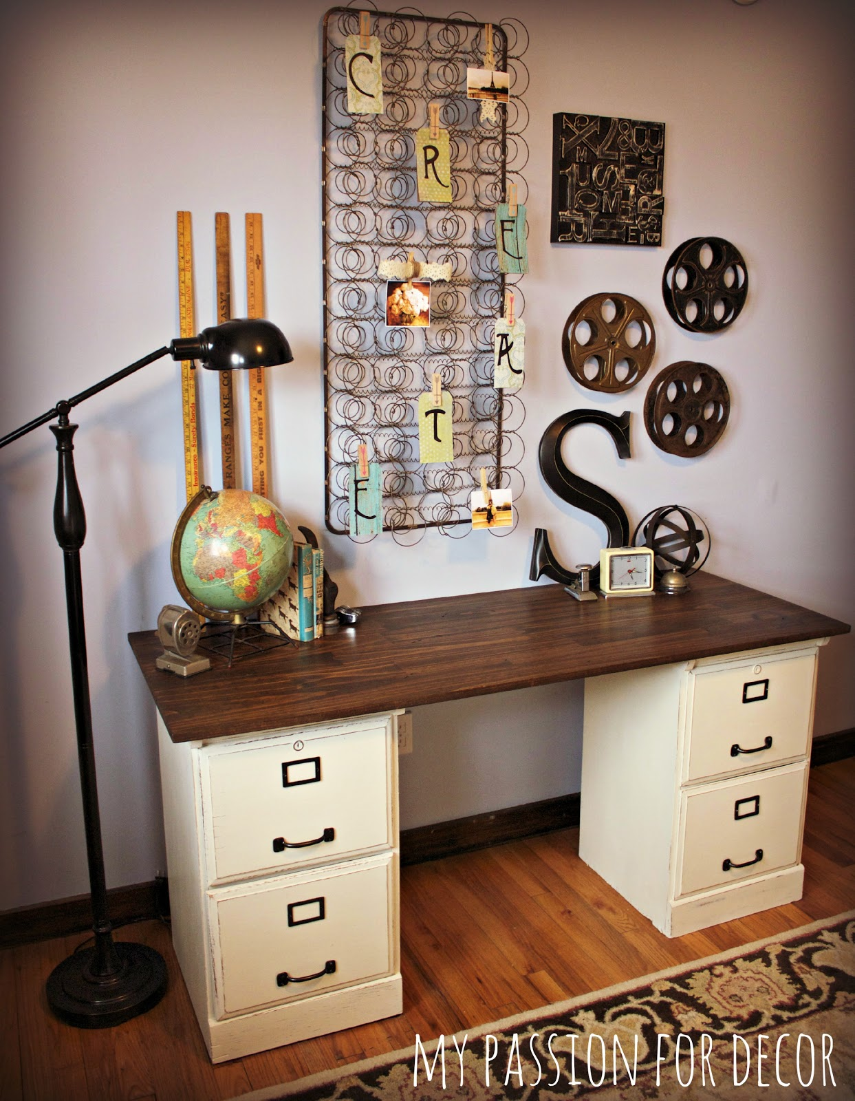 Best My Passion For Decor My Pottery Barn Desk Hack This Month