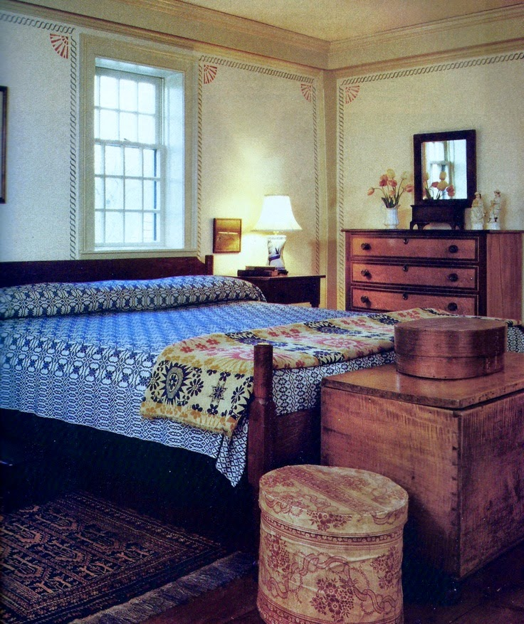 Best Eye For Design Decorating Colonial Primitive Bedrooms This Month